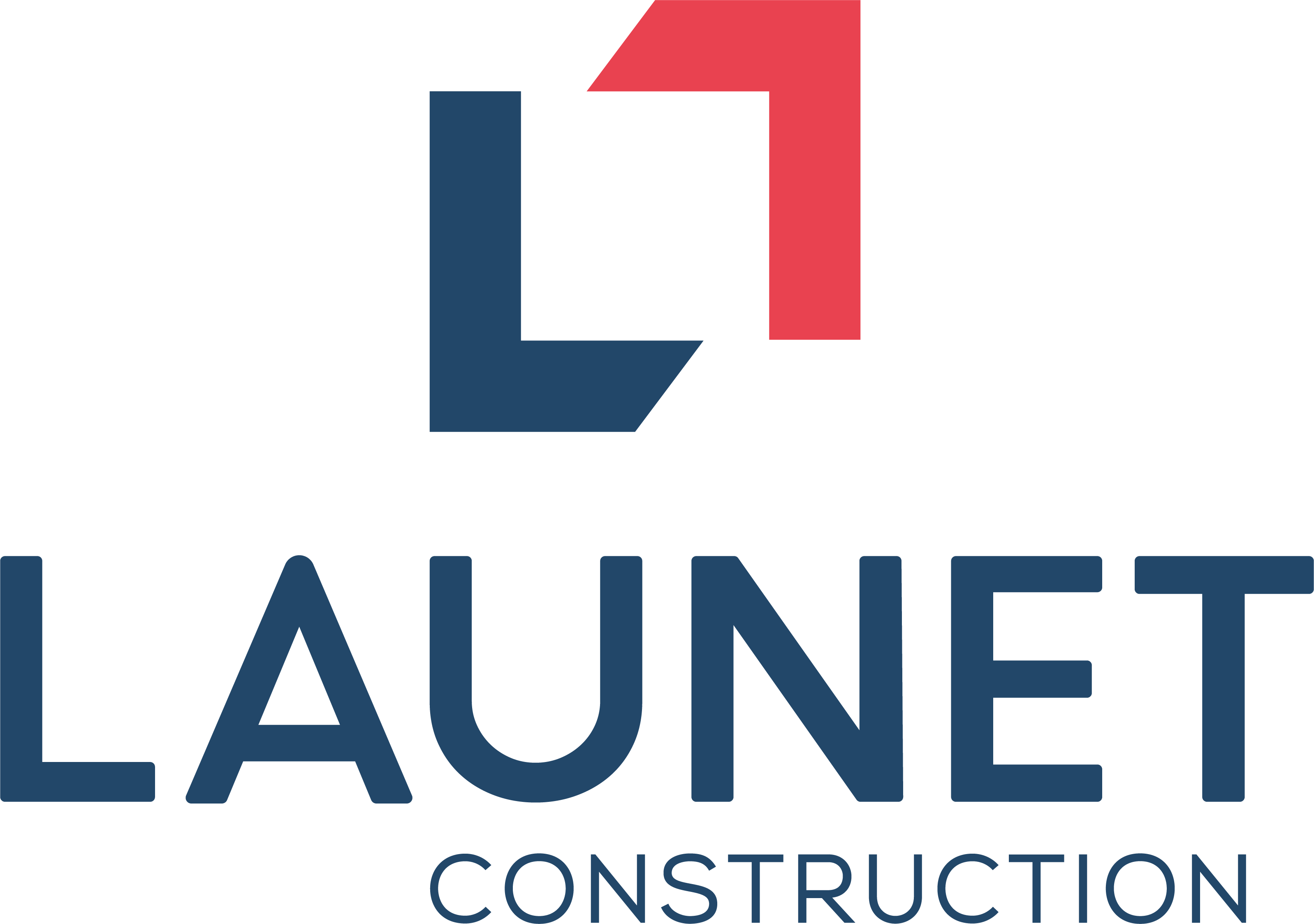 Logo LAUNET Construction